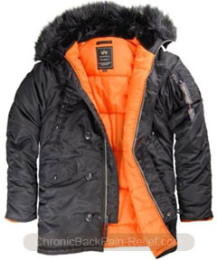 parka back pain